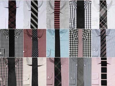 30代男性のワイシャツの色とネクタイの組み合わせを徹底調査!