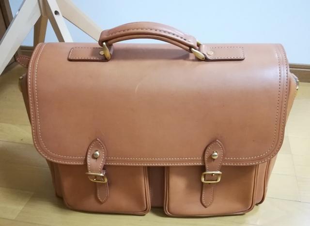 愛用のビジネスバッグ