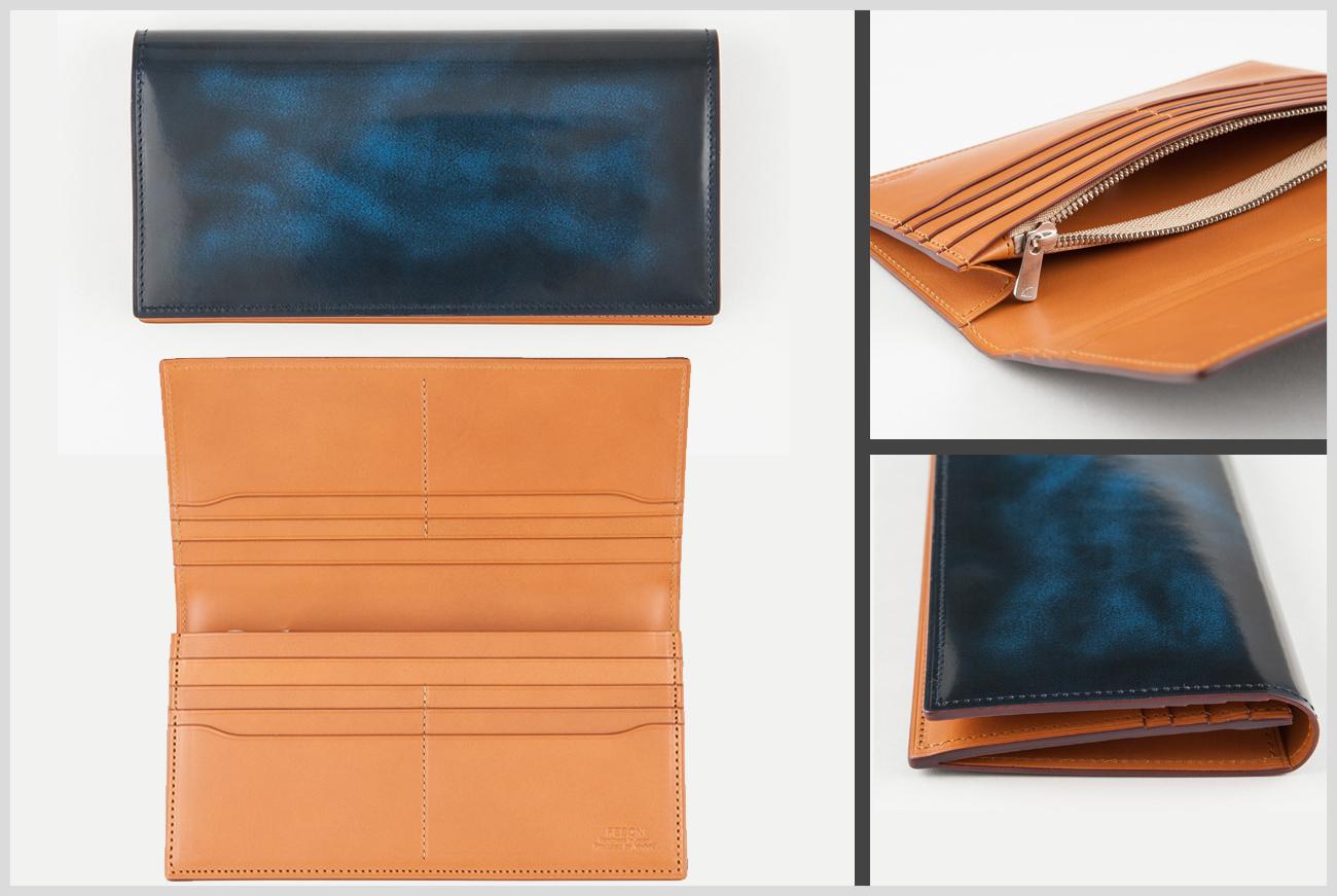 フェソンのアドバンレザーの長財布の画像