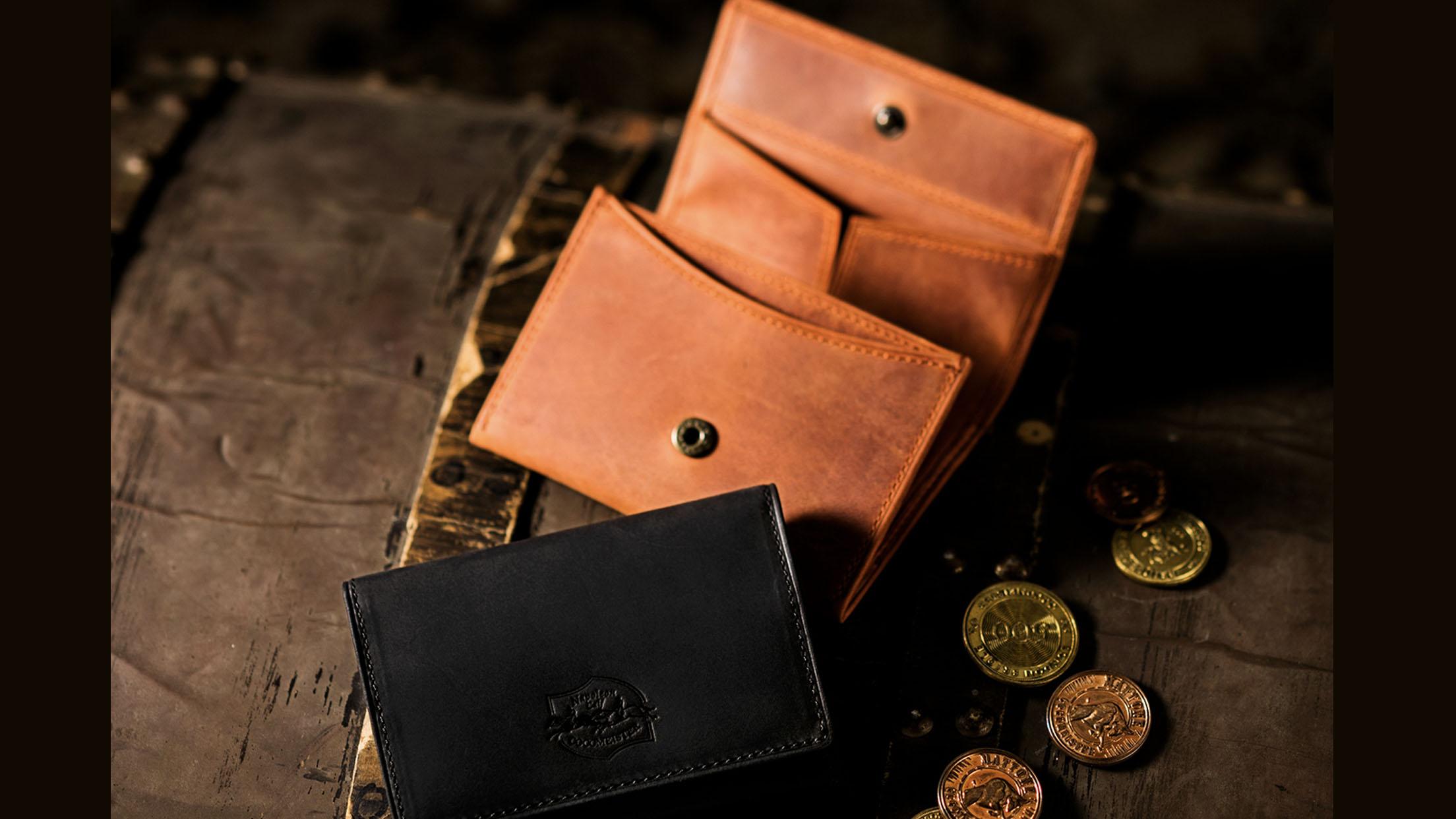 ナポレオンカーフアシッドコインケースの画像