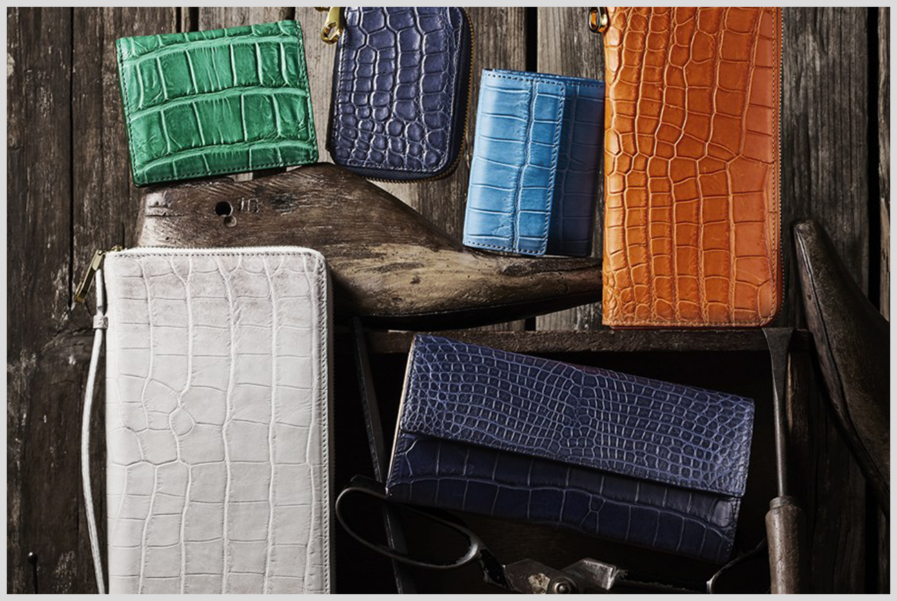 チマブエの革財布の画像