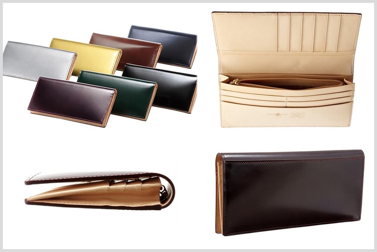 フライングホースのメンズ長財布の画像