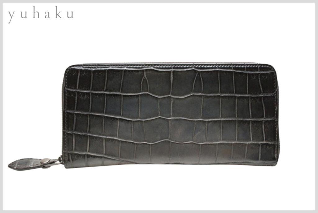 yuhakuのクロコダイルの財布