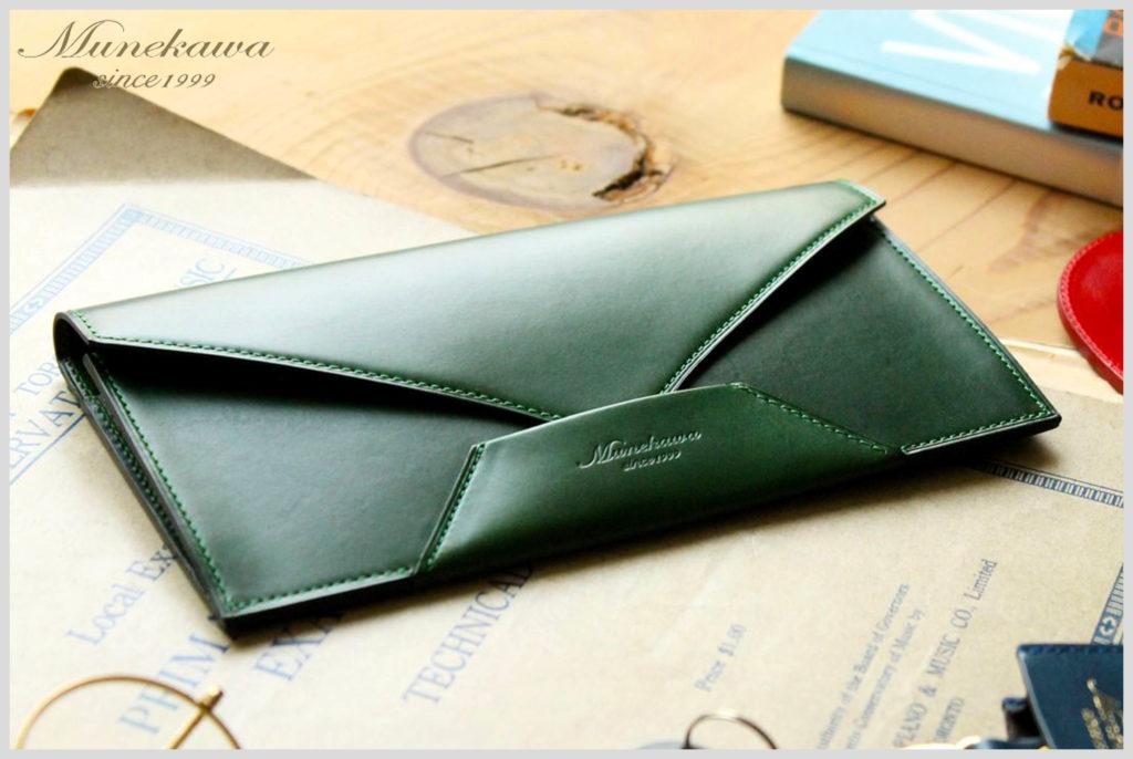ムネカワの封筒型財布エンケースの画像
