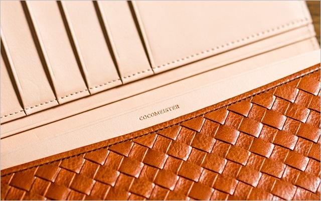 マットーネシリーズの内装は良質なヌメ革だよ