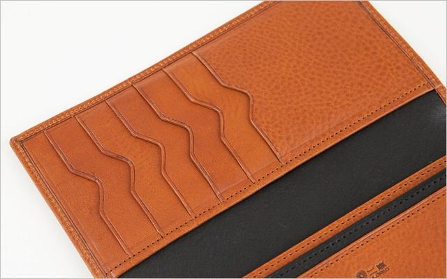 二宮五郎商店の長財布の内装