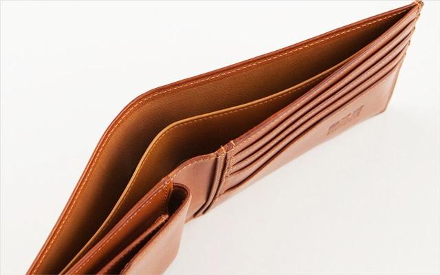 二宮五郎商店の二つ折り財布