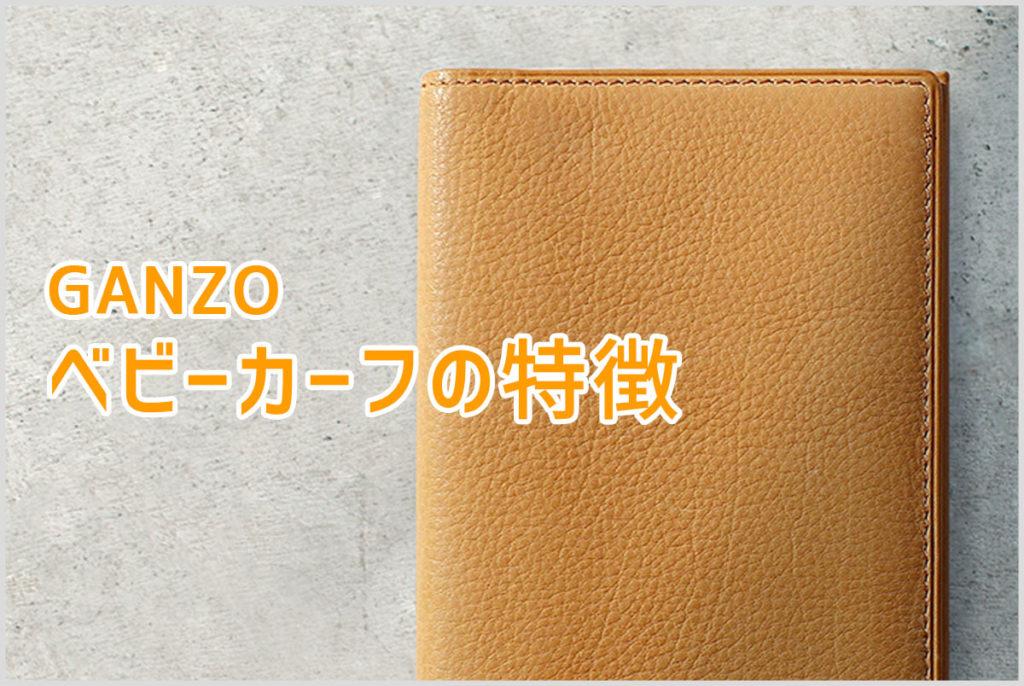 GANZOのベビーカーフシリーズの特徴